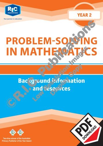 20714_Problem_solving_Year_2_Background_information_resources