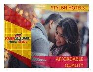 Park Square Hotels and Resorts Brandbook_2018