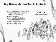 Buy Diamonds Jewellers Sydney, Perth, Melbourne, Canberra  in Australia
