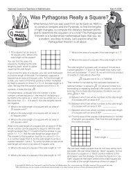 Was Pythagoras Really a Square?