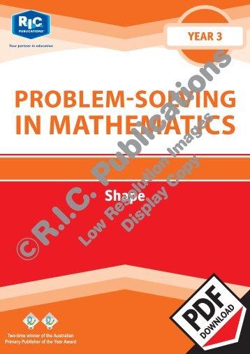 20729_Problem_solving_Year_3_Shape