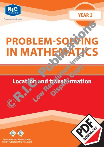 20738_Problem_solving_Year_3_Location_and_transformation
