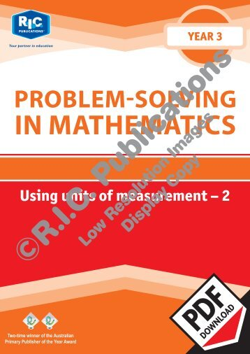 20740_Problem_solving_Year_3_Using_units_of_measurement_2