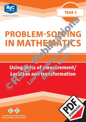 20741_Problem_solving_Year_3_Using_units_of_measurement_Location_and_transformation