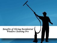 Benefits of Hiring Residential Window Cleaning Pro