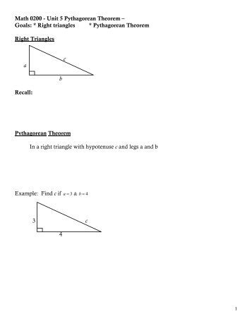 pythagorean theorem assignment Pythagorean theorem converse and inequalities assignment answers easily sync assignments to your ipad for grading on- or off-line pythagorean theorem converse.