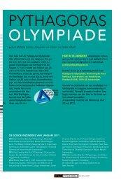 Pythagoras Olympiade & Naamzoeker
