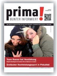 prima! Magazin - Ausgabe November 2014