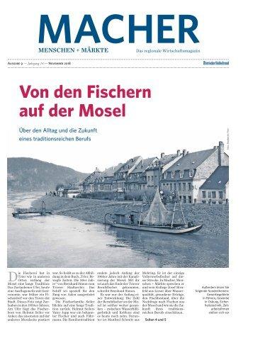 MACHER Menschen + Märkte - Ausgabe 9 - November 2018