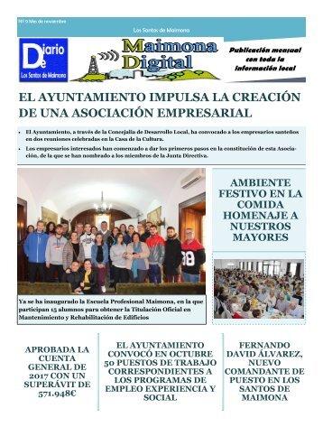 Diario local Noviembre 2018
