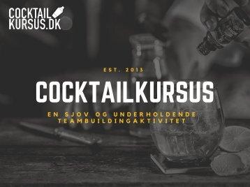 Cocktailkursus (2 timer)
