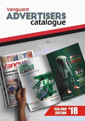 advert catalogue 15 November 2018
