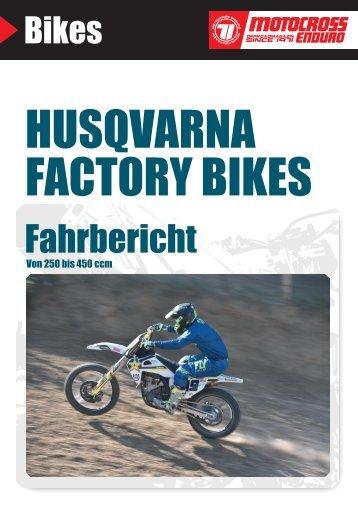 Husqvarna Factory Bikes