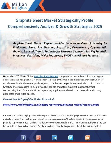 Graphite Sheet Market Strategically Profile, Comprehensively Analyze & Growth Strategies 2025
