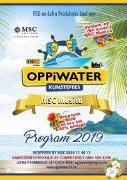 Oppiwater Kunstefees - Program 2019