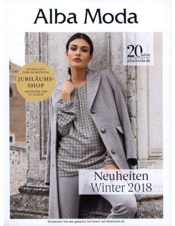 Alba Moda Winter 2018