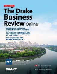 The DBR Online Issue 3 - Hiring the best of the best