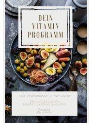 Dein Vitaminprogramm