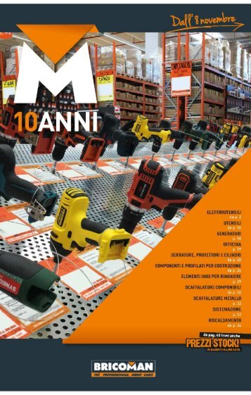 catalogue bricoman 2012