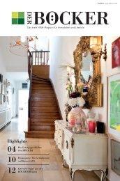 DER BÖCKER - Das erste NRW-Magazin für Immobilien und Lifestyle - Herbst/Winter 2018