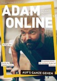 Adam online Nr. 57 Vorschau