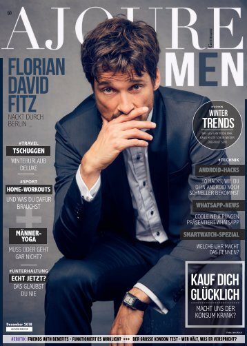 AJOURE´ Men Magazin Dezember 2018