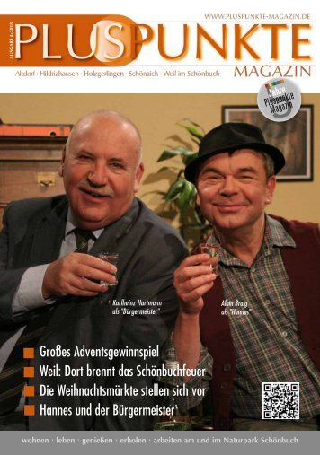 Pluspunkte-Magazin November 2018