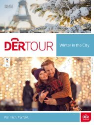 Winter in the City 2018/ 19 DERTOUR