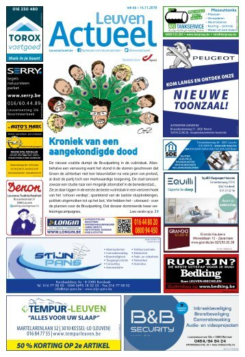 1846 Leuven Actueel - 14 november 2018 - week 46