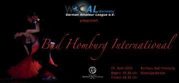 Flyer Bad Homburg International 2019