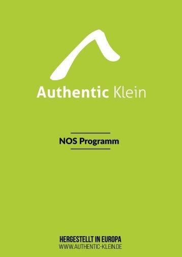 Authentic Klein - NOS Programm - Modeagentur Stadtlander