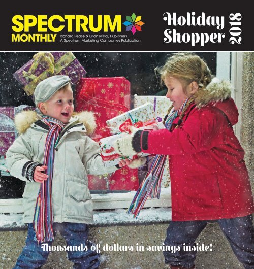 Spectrum Monthly Holiday Shopper Special Edition 2018