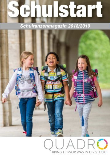 Schulranzenmagazin 2018/2019 QuadrO