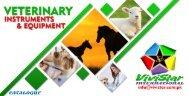 Veterinary Instrument's Catalog - Vivistar International