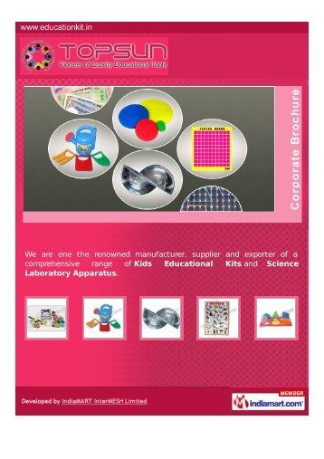 Topsun Enterprises, Delhi - Supplier & Manufacturer of Math Kits ...