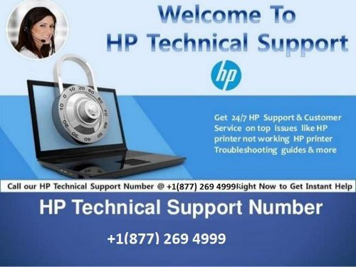 HP Technical Support Number USA