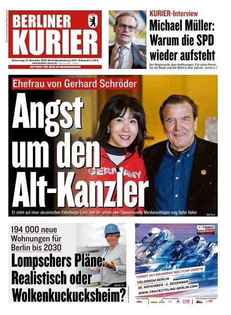 Berliner Kurier 15.11.2018