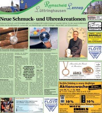 Remscheid-Lennep-Lüttringhausen  -16.11.2018-