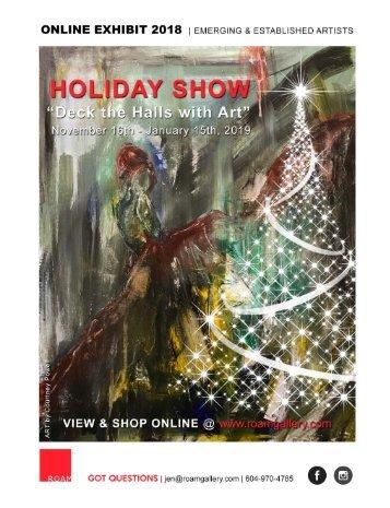 ROAM Gallery - Holiday Show Catalogue 2018