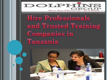 Hire Professionals and Trusted Training Companies in Tanzania-converted