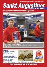 Sankt Augustiner Stadt-Magazin - Dezember 2018