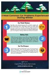 3 Most Common Car Problems Experienced During Winter