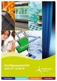 Beteiligungsbericht der StädteRegion Aachen zum 31.12.2016