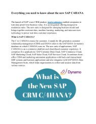 Everything you need to know about the new SAP C/4HANA