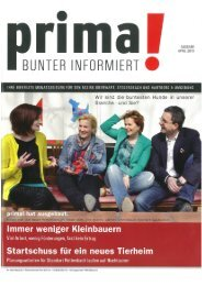 prima! Magazin - Ausgabe April 2013