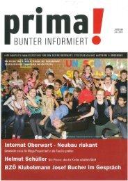 prima! Magazin - Ausgabe Juli 2013