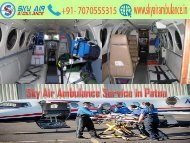 Get Top and Dependable Air Ambulance Service in Patna