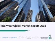 Kids Wear Global Market Report 2018