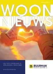 Buurman Makelaardij Woonnieuws magazine #3, december 2018