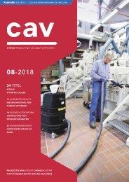 cav - Prozesstechnik für die Chemieindustrie  08.2018